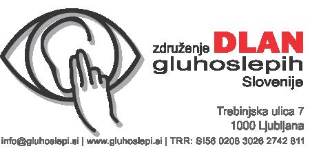 Društvo gluhoslepih Slovenija DLAN